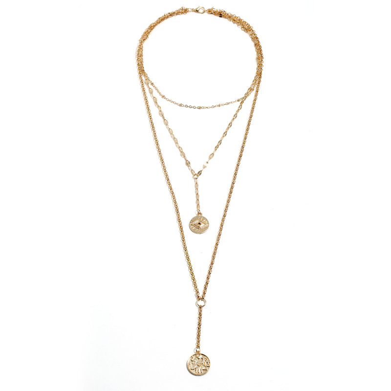 2019 New Alloy Shell Necklace Set Wholesale NHJQ188690