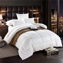 五星酒店被芯白色全棉羽絲絨被子賓館被加厚冬被夏被四季被批發
