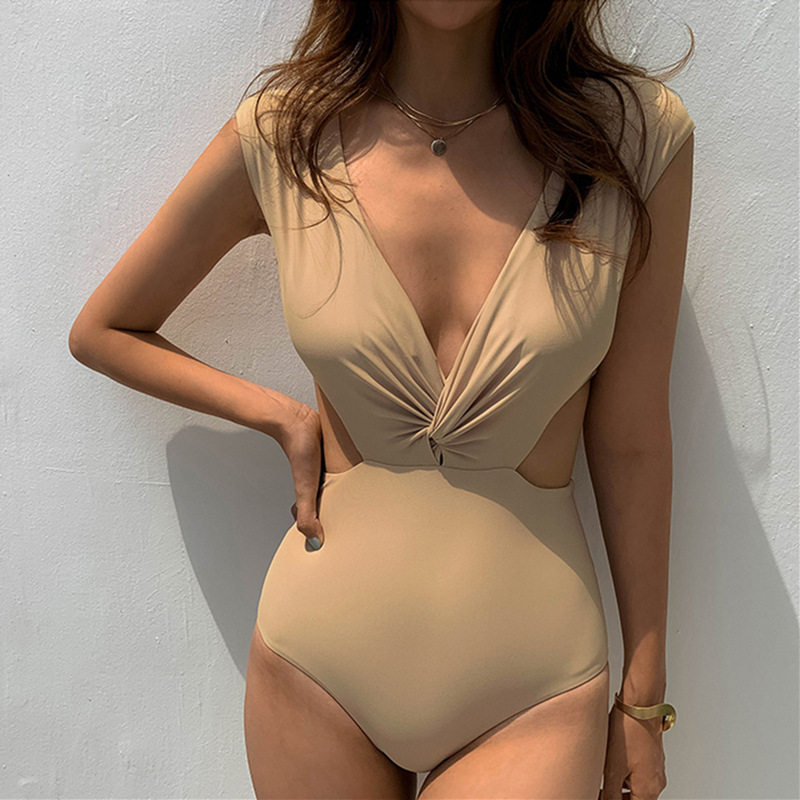 New sexy fashion one-piece triangle swimsuit women NHHL204932