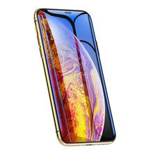 创意防尘网9D钢化膜适用iPhoneXsMax苹果6splus全屏覆盖工厂直销