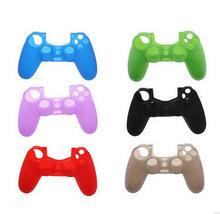 PS4手柄硅胶套 PS4迷你彩色胶套 PS4游戏机手柄胶套