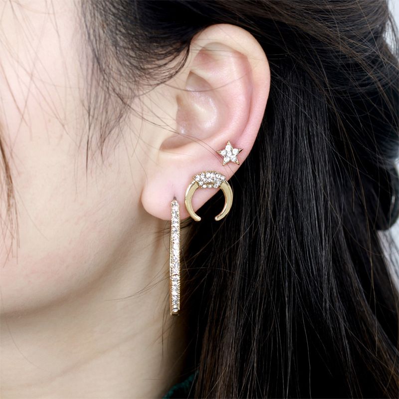 Alloy Vintage Geometric earring  (Alloy)  Fashion Jewelry NHNZ1256-Alloy