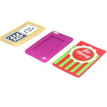 韩版卡通软胶公交卡保护套 优质环保PVC卡套软胶学生卡套定做