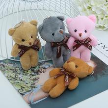 新款连体小熊 网红伴手礼娃娃 厂家批发毛绒连体小熊包包挂件配饰