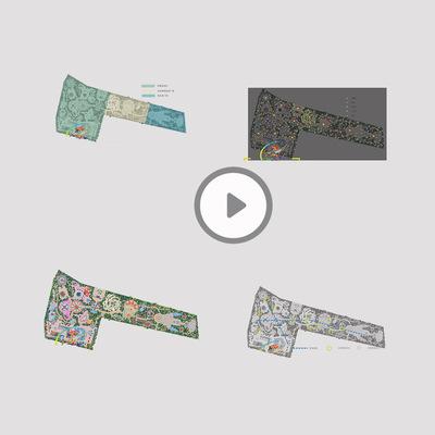 葫芦岛游乐园规划设计三D CAD景观设计平面设计图片