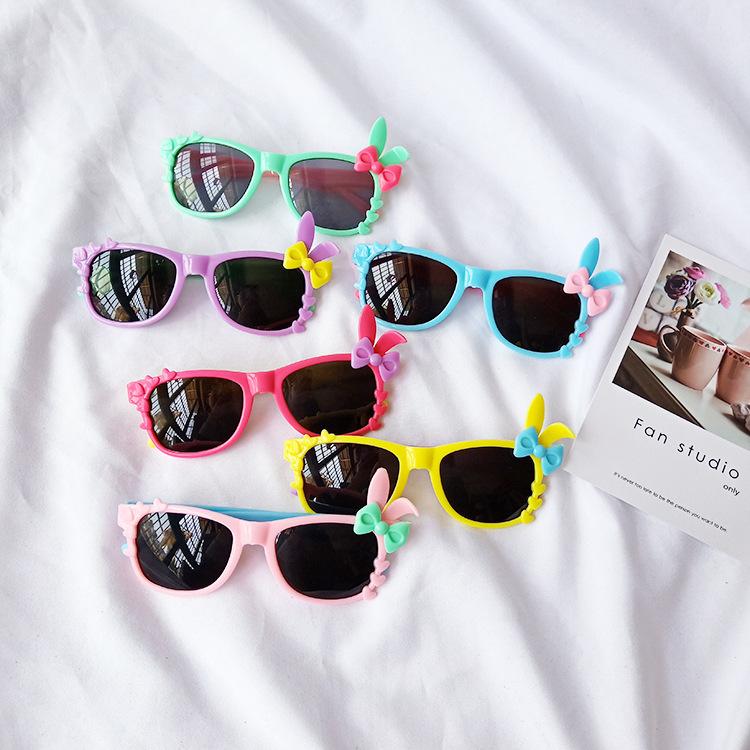 new bunny bowknot childrens glasses NHBA311562