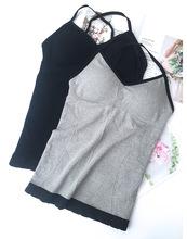 网红春夏新款女装气质韩版性感打底美背背心外穿百搭吊带抹胸上衣