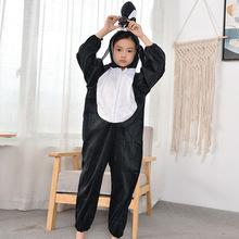卡通小企鵝人偶行走服六一兒童節動物演出服裝舞蹈服飾廠家供應