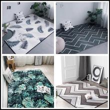 YS北欧地毯卧室满铺网红ins床边飘窗垫客厅茶?#24178;?#21457;地垫门垫可定