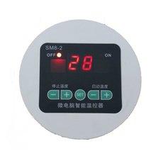 數顯溫控器 循環泵溫度控制器 管道控溫開關 2米磁性探頭