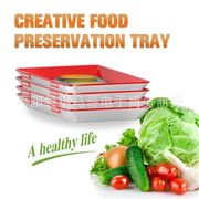 CREATIVE FOOD PRESERVATION TRAY创意食品保鲜托盘 举报