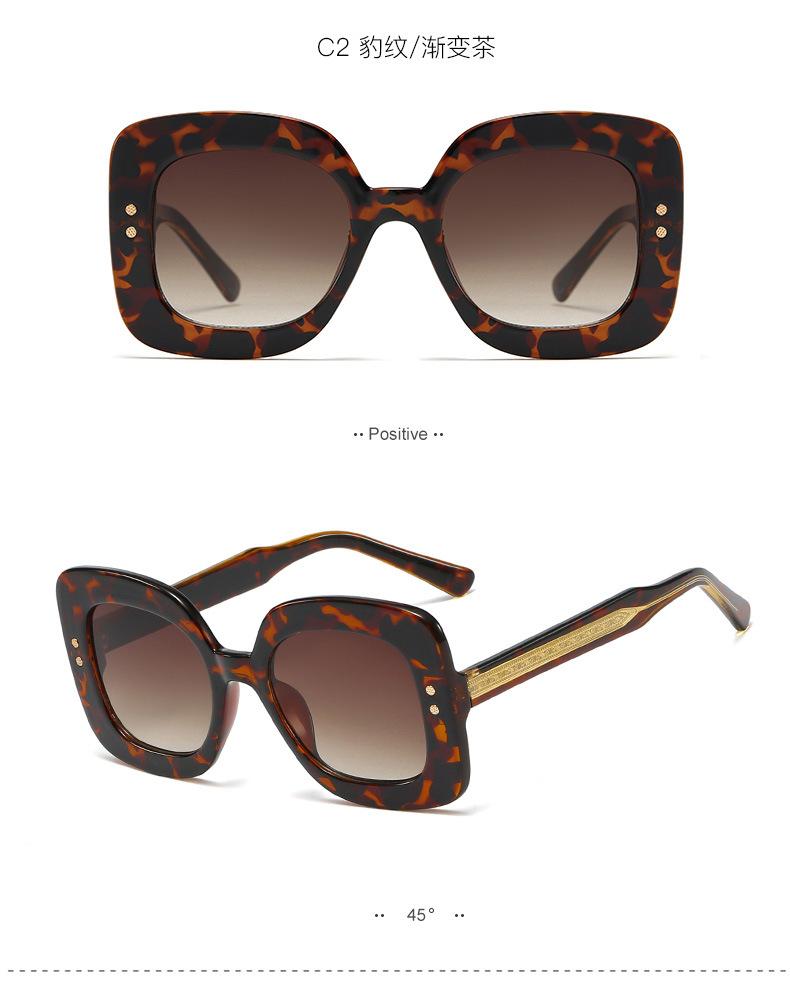 Fashion Mi nail large box sunglasses female CP mortise high quality sunglasses men trend glasses NHFY196663