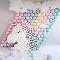 5寸乳胶气球 马卡龙色糖果气球 生日派对婚庆婚礼婚房布置亚马逊