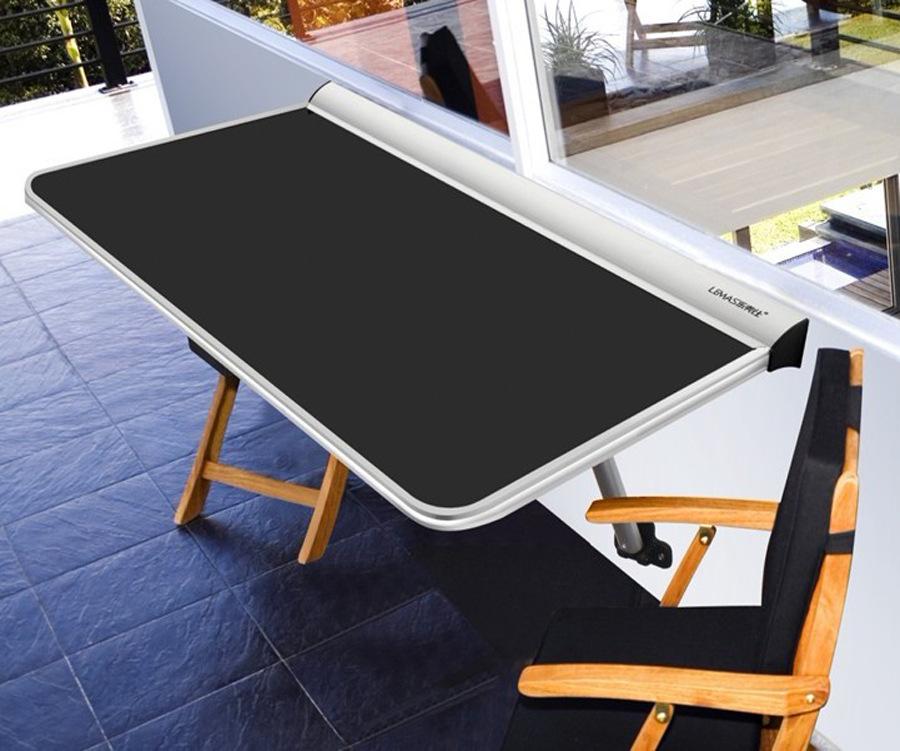 厂家直销多功能折叠桌长方形家用小户型饭桌置物桌
