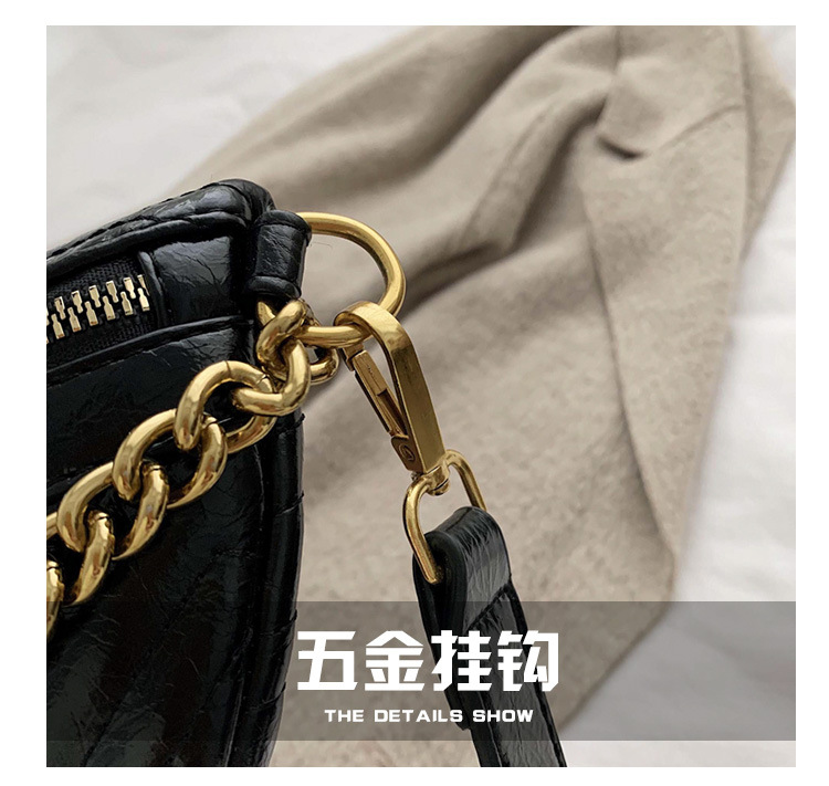 Lingge women's shoulder bag new casual waist bag diagonal fashion chest bag wholesale NHLD187245