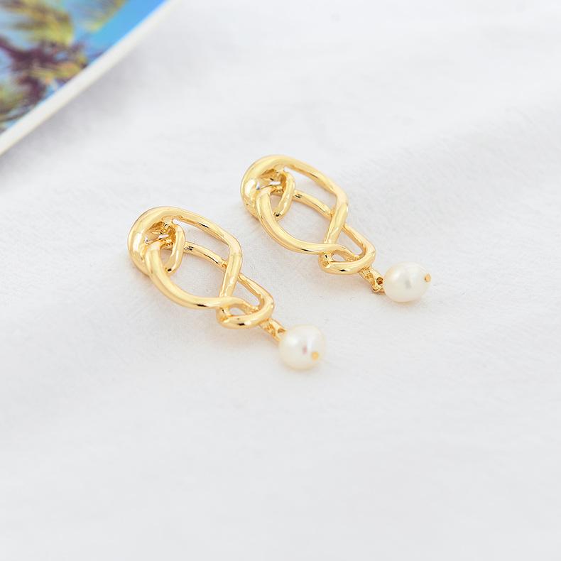 Alloy Fashion Geometric earring  (Photo Color)  Fashion Jewelry NHQS0619-Photo-Color