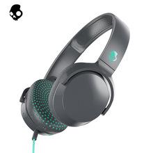 骷髅头(Skullcandy)Riff 头戴式线控耳机轻质舒适 语音通话时尚