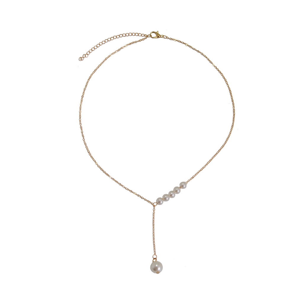 Sweet Accessories Pearl Necklace Women's Accessories Wholesale fashion necklace NHKS197132
