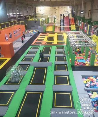 游乐设备厂家儿童游乐设备 成人健身蹦床馆 网红蹦床乐园 淘气堡