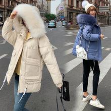 外貿新款棉服女韓版寬松加厚大碼女裝棉衣女外套冬季學生面包服