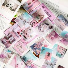 語閑和紙貼紙包 追憶時光序章 創意INS手帳日記DIY裝飾貼畫 8款選