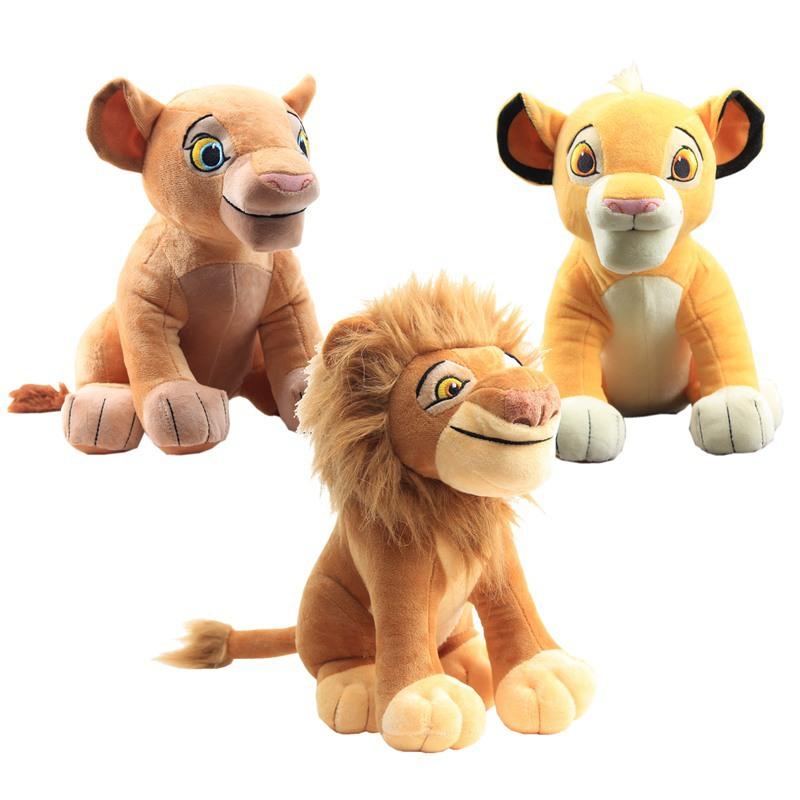 动物狮子 毛绒玩具仿真狮子 玩偶公仔抱枕礼品抓机娃娃 礼品批发
