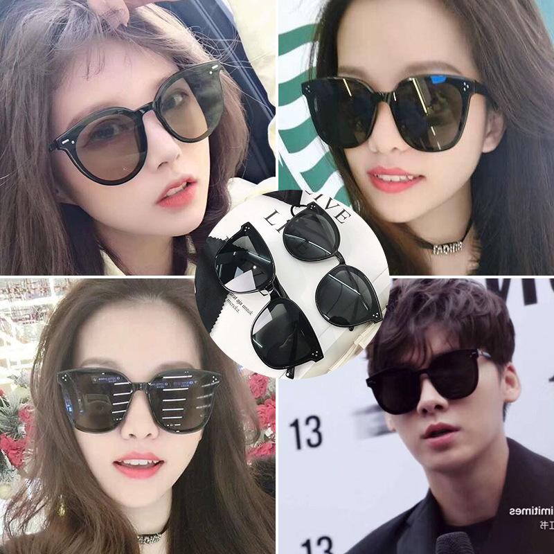 2019新款太阳镜批发 复古大框圆框墨镜 韩版墨镜太阳眼镜