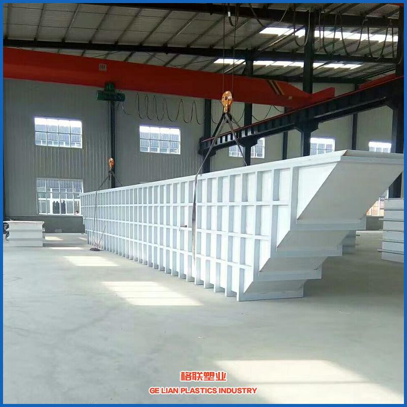 来图焊接加工耐酸碱pp水槽水箱 大型聚丙烯挤出塑料制品生产厂家