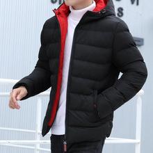 2019冬季新款青少年男士棉衣短款帥氣羽絨棉服冬天棉襖外套男裝潮