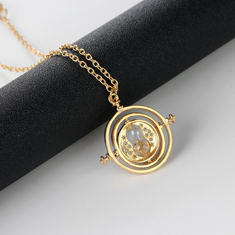 Harry Potter time converter pendant necklace burst necklace wholesale nihaojewelry NHCU232775