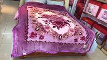 潮款8斤拉舍尔毛毯双层加厚冬季单双人毯170*220婚庆毛毯特价