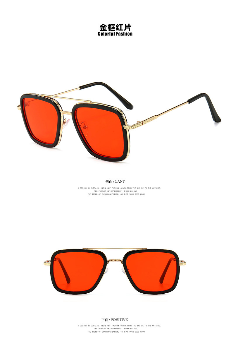 New Fashion Metal Sunglasses for Boys and Girls Sunglasses Wholesale NHKD200479