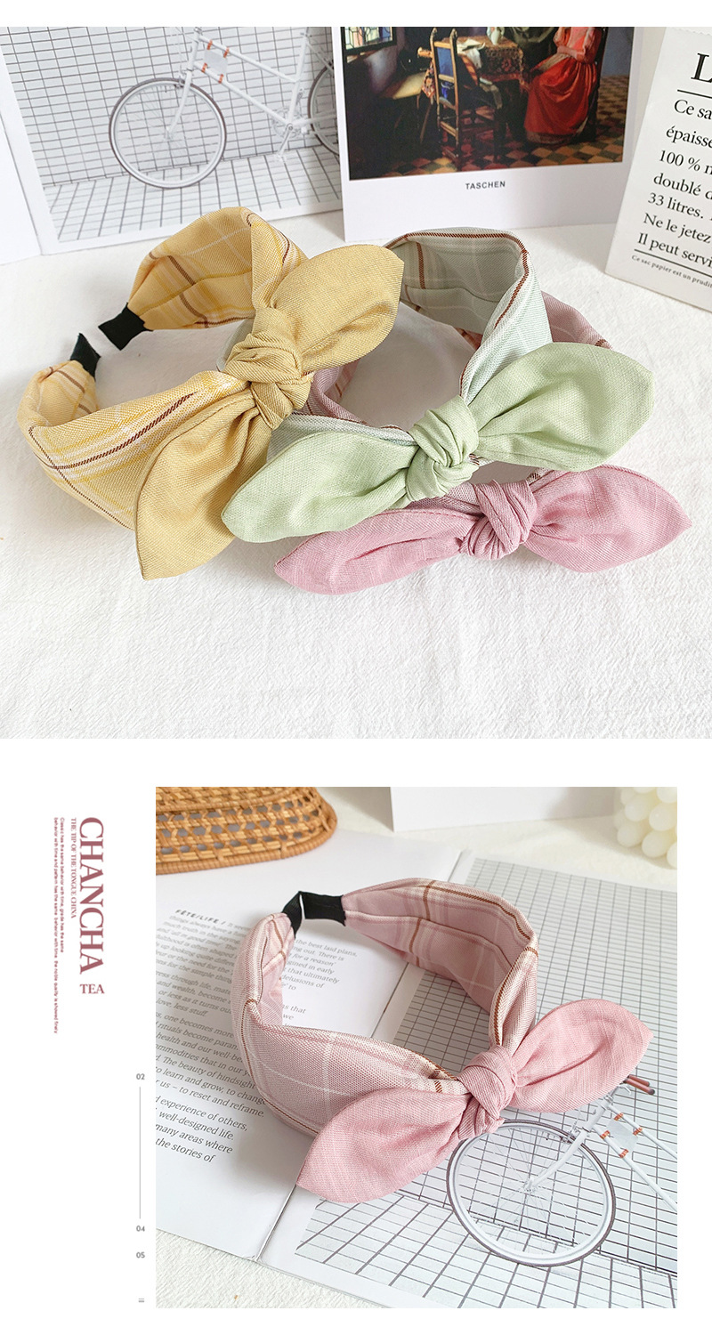 Cute hair band wash face bow hair hoop pressure hair hoop headdress hair band NHOF183361