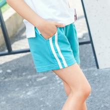 2019新款儿童安全裤夏季休闲女童沙滩裤纯棉条纹儿童短裤一件代发