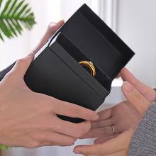 新款创意情侣陶瓷杯礼盒套装情人节婚庆礼品一对戒指杯子Logo定制