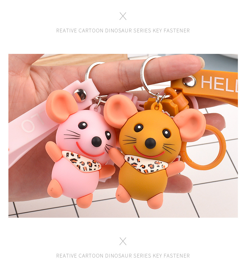 New cute cartoon doll keychain NHCB153842