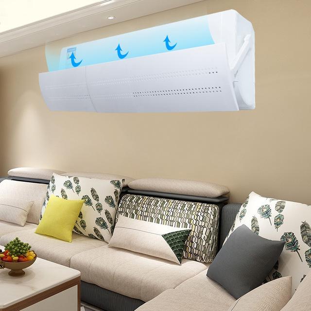 Điều hòa nhiệt độ lệch tháng gió kính chắn gió có thể thu vào ngăn chặn trực tiếp ổ cắm đòn chụp nắp dự thảo không khí gia đình vách ngăn Kính chắn gió
