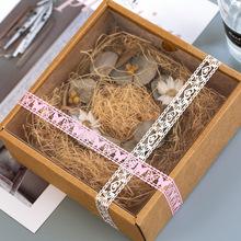 创意蕾丝文具贴纸胶带 手帐日记相册diy配件甜美镂空装饰贴画10款