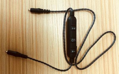 厂家批发M2 N1 X46 DC头蓝牙耳机升级替换线 蓝牙中控可换蓝牙线
