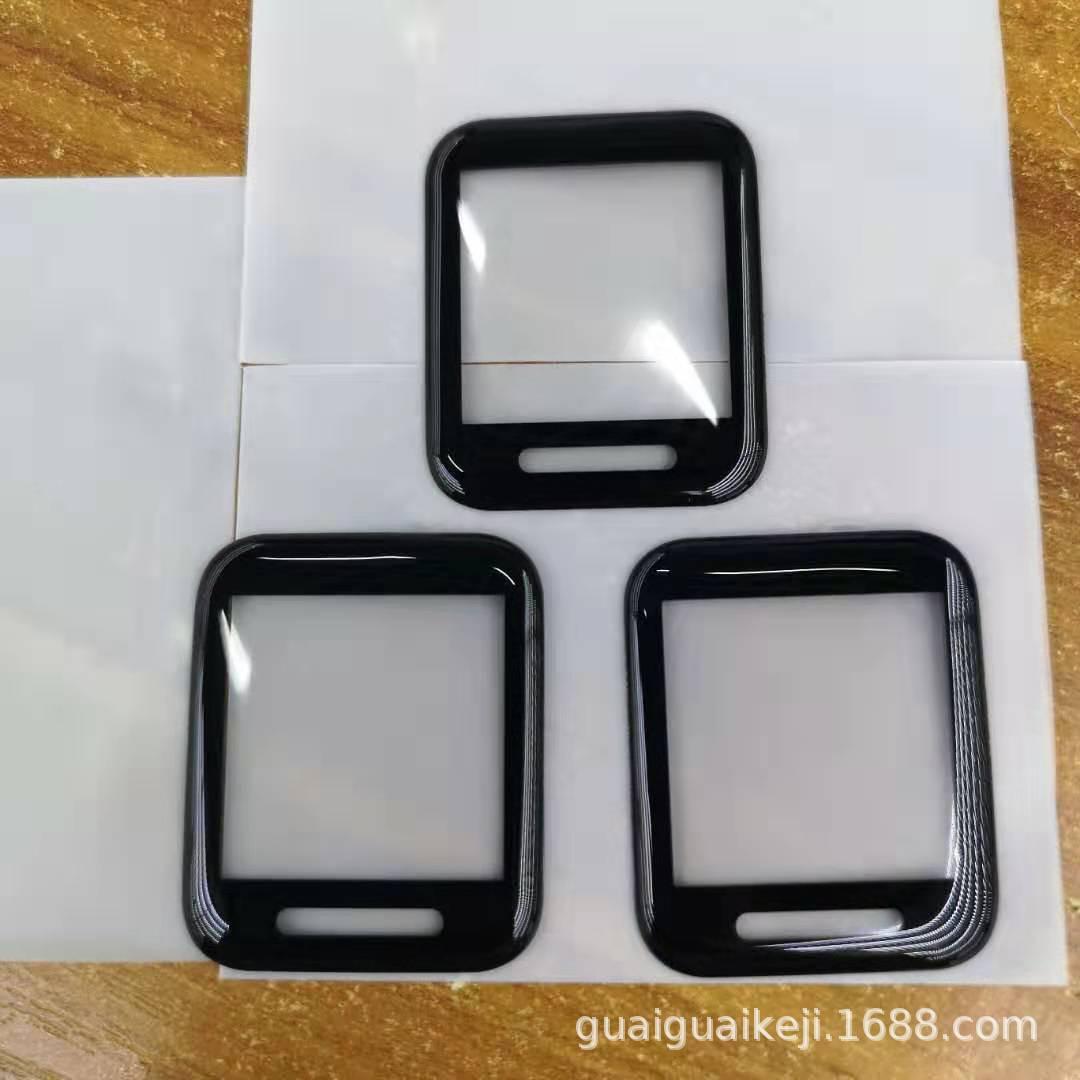 华米米动青春版保护膜 Amazfit BIP智能手表贴膜全屏曲面钢化高清