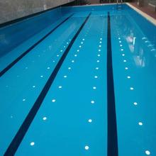 建造鋼結構游泳池 健身會所游泳池 泳池防水膠膜施工泳池設備安裝