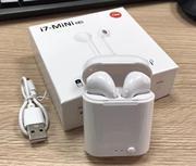 i7mini tws 无线 蓝牙耳机 5.0 双耳双通 充电仓  迷你 蓝牙耳机