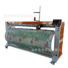 电脑绗缝机 滚筒式节省空间绗缝机供应 多种花型电脑绗被机热销
