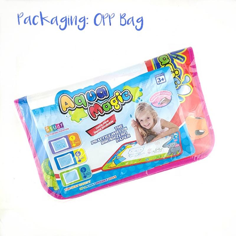 凯虹宇定制 大号72*52魔法神奇单色水画布写字毯涂鸦宝宝益智玩具