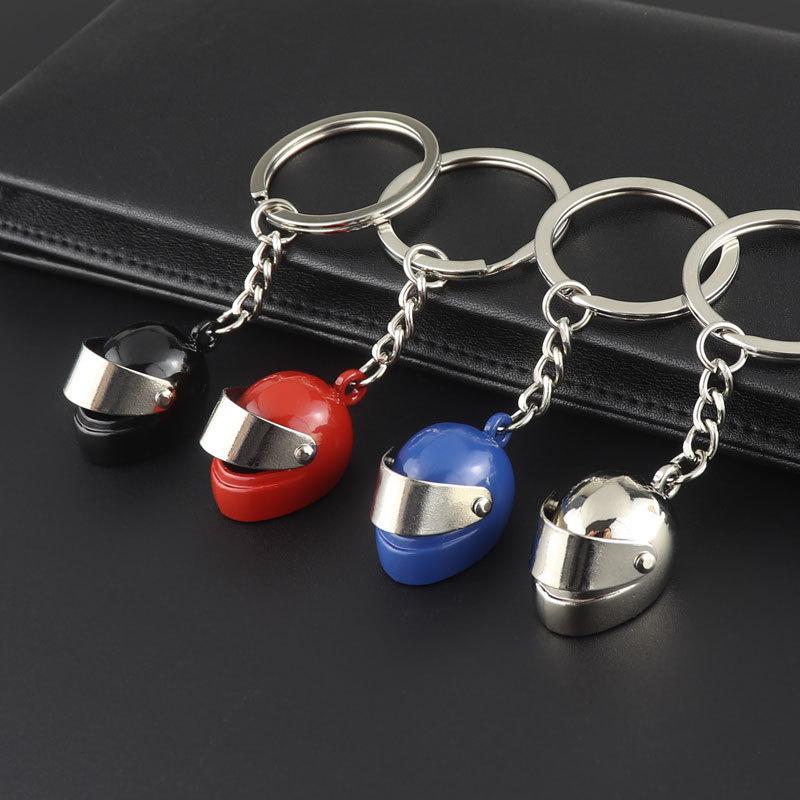 鑰匙扣 男女通用 頭盔鑰匙圈安全帽鑰匙扣