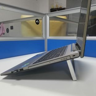 Creative Aluminum Alloy Stand Folding Portable Notebook Tablet PC Cooling Stand