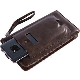 Cross-border Men's Clutch Long Wallet Multifunctional Creative Clutch Wallet Mobile Wallet