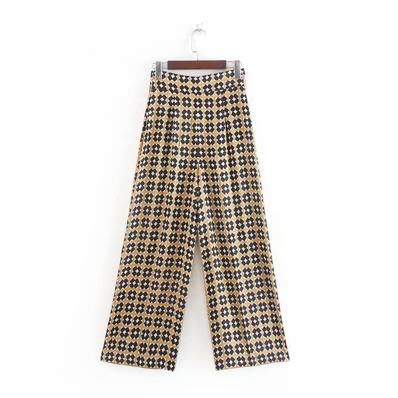Summer printed trousers  casual pants NHAM153199