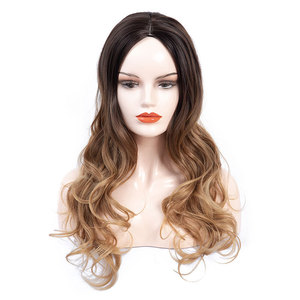 Wavy Hair Wigs Curly Hair Wigs Special for processing OEM women's wigs big wave long curly wig headgear
