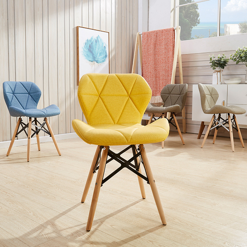 Brilliant Nordic Chair Home Solid Wood Eames Chair Casual Computer Gamerscity Chair Design For Home Gamerscityorg